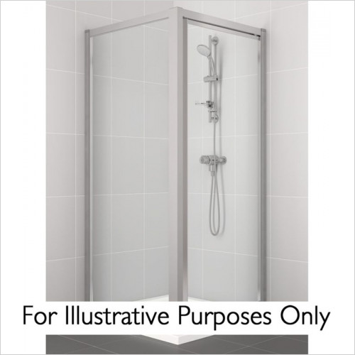 Ideal Standard - Bathrooms - New Connect 800mm Pivot Door - Alcove