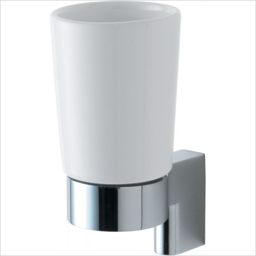 Ideal Standard - Accessories - Concept Tumbler Ceramic With Bracket & Holder