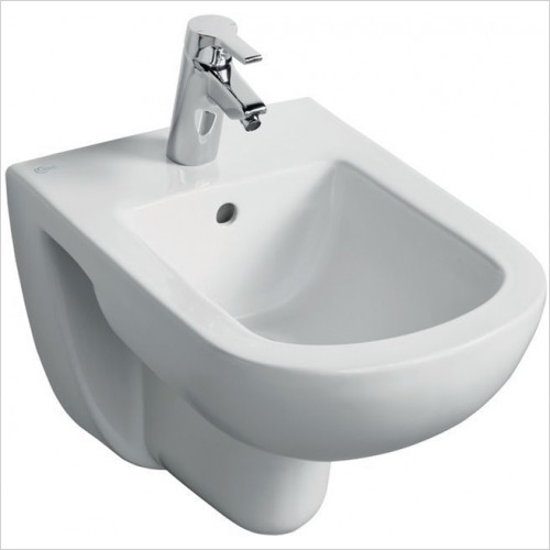 Ideal Standard - Bathrooms - Tempo Wall Mounted Bidet, 1TH