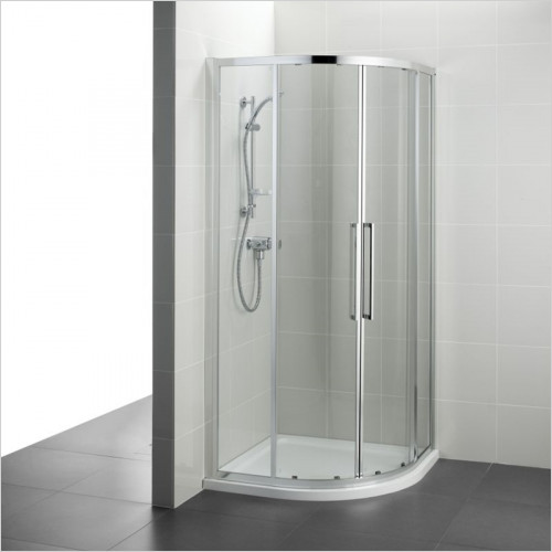 Ideal Standard - Bathrooms - Kubo 800mm Quadrant Enclosure With Idealclean Clear Glass