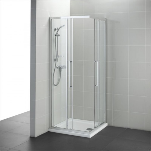 Ideal Standard - Bathrooms - Kubo 800mm Corner Entry, IdealClean Clear Glass