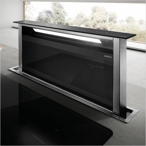 Elica - Andante Downdraft Hood 115mm With Built In Motor