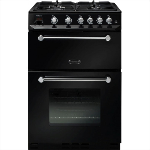Rangemaster Appliances - Kitchener 60cm Freestanding Oven, Natural Gas