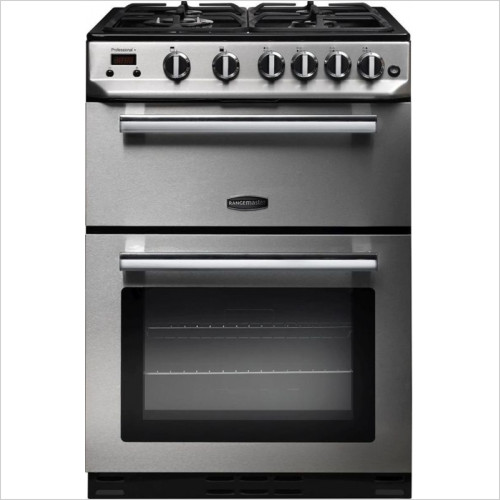 Rangemaster Appliances - Professional+ 60cm Freestanding Oven, Natural Gas