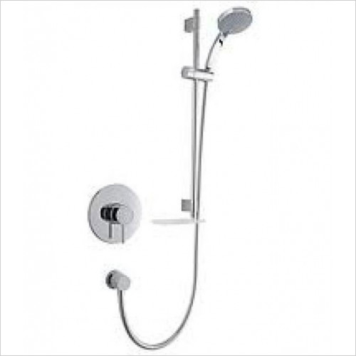 Mira - Element BIV Mixer Shower Surface Mounted With Adj Handset