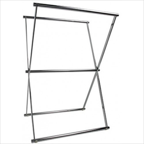 Miller From Sweden Accessories - Classic Freestanding Folding Towel Holder