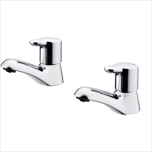 Ideal Standard - Bathrooms - Elements Basin Pillar Taps With Lever Handles