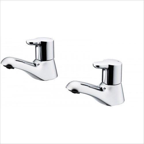 Ideal Standard - Bathrooms - Elements Bath Pillar Taps With Lever Handles