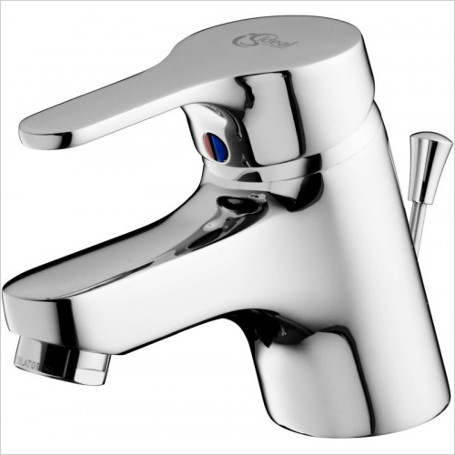 Ideal Standard - Bathrooms - Alto Basin Mixer 1 Hole Pop Up Waste Low Pressure
