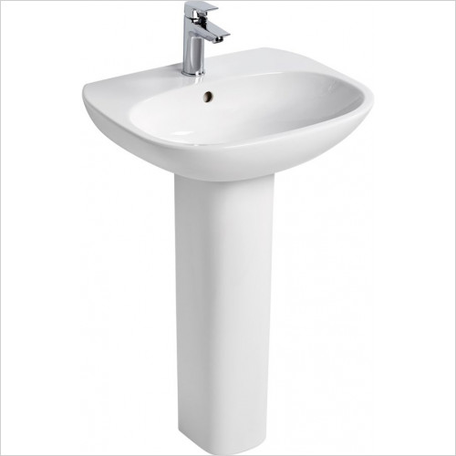 Ideal Standard - Bathrooms - Tesi 60cm Washbasin, 1TH With Overflow