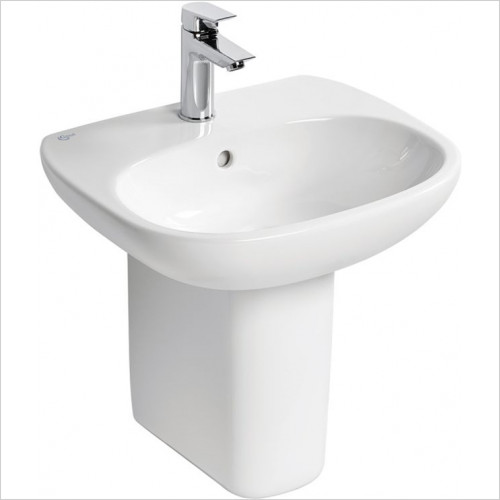Ideal Standard - Bathrooms - Tesi 50cm Washbasin, 1TH With Overflow