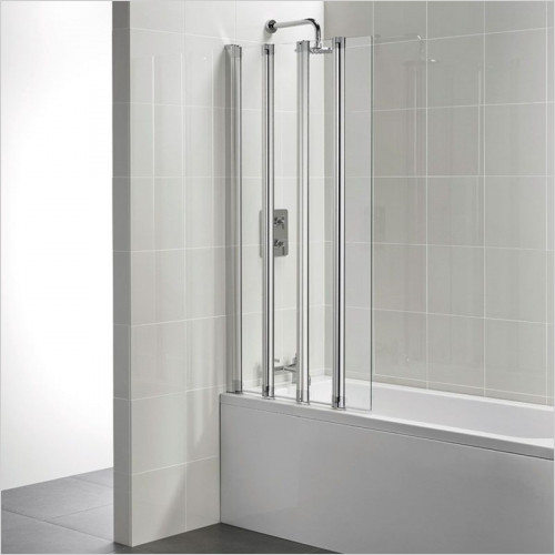Ideal Standard - Bathrooms - New Connect 5 Panel Folding Bath Screen