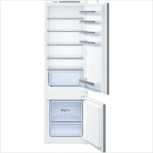 Bosch - Serie 4 177 x 54cm LowFrost Bottom Freezer, 70/30 Split
