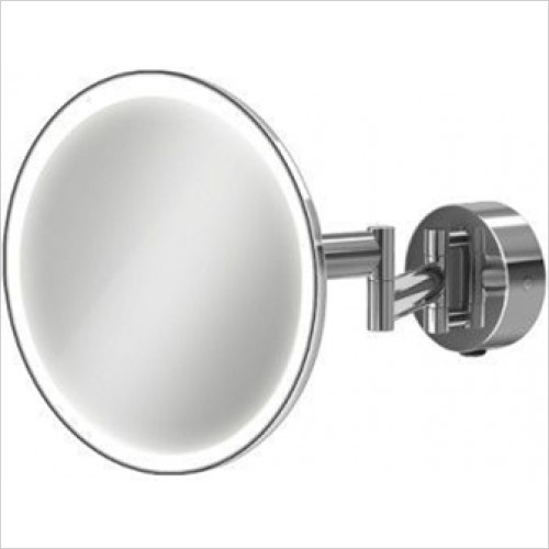 HiB Accessories - Eclipse Round Magnifying Mirror Ø20cm