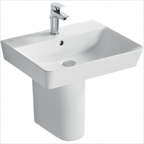 Ideal Standard - Bathrooms - Concept Air Cube 55cm Washbasin, 1TH With Overflow