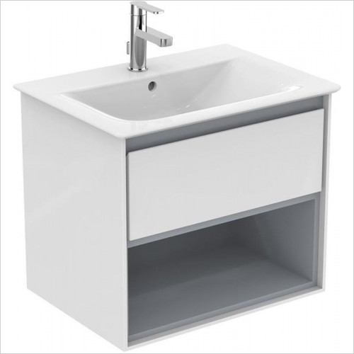 Ideal Standard - Bathrooms - Concept Air Cube 40cm Vessel Washbasin, NTH No Overflow