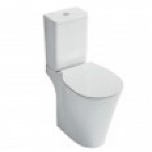 Ideal Standard - Bathrooms - Concept Air Close Coupled Cistern 6/4 Litre
