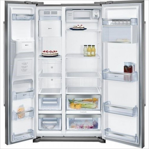 Neff - 176 x 91cm USA Style SBS Fridge Freezer