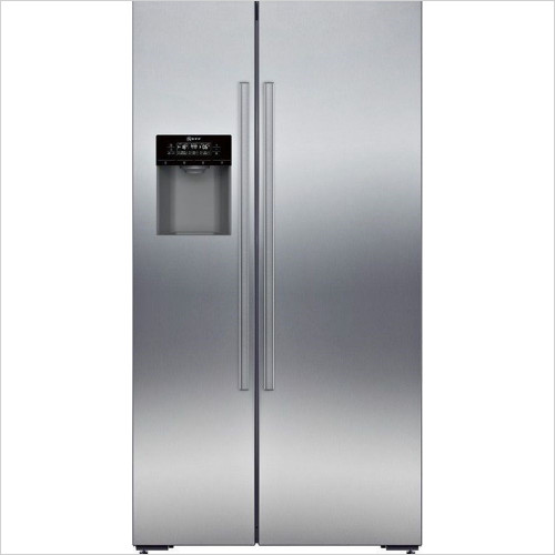 Neff - 176 x 91 x 76cm USA Style SBS Fridge Freezer