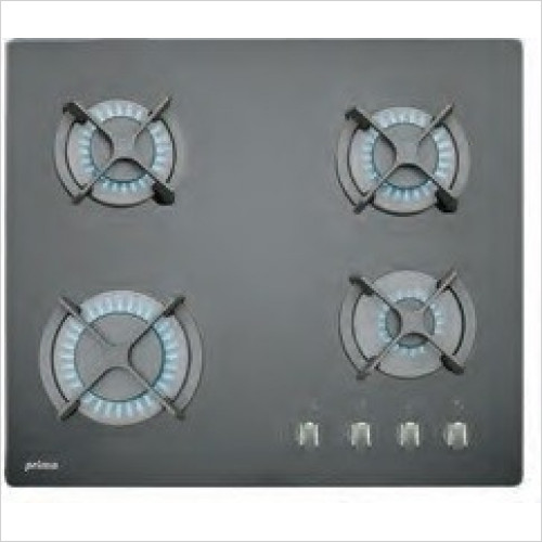 Prima - 60cm Gas On Glass Hob