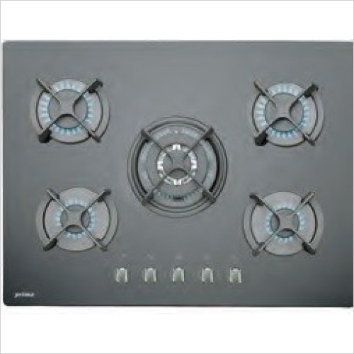 Prima - 70cm Gas On Glass Hob