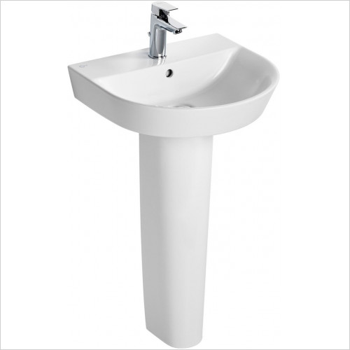 Ideal Standard - Bathrooms - Concept Air Arc 50cm Washbasin - 1TH
