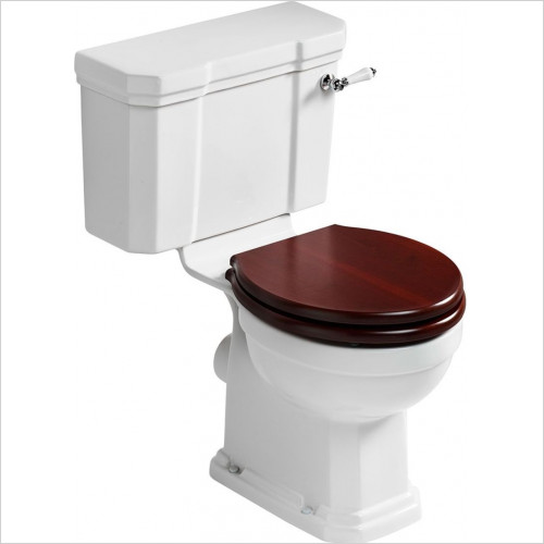 Ideal Standard - Bathrooms - Waverley Classic Close Coupled Bowl - Horizontal Outlet