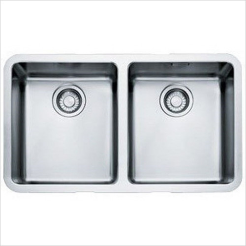 Franke Sinks & Taps - Kubus Undermount Double Bowl Sink