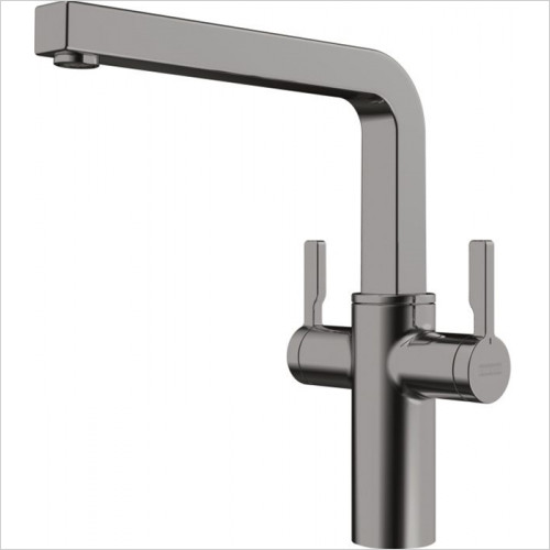 Two Lever Swivel Spout Tap