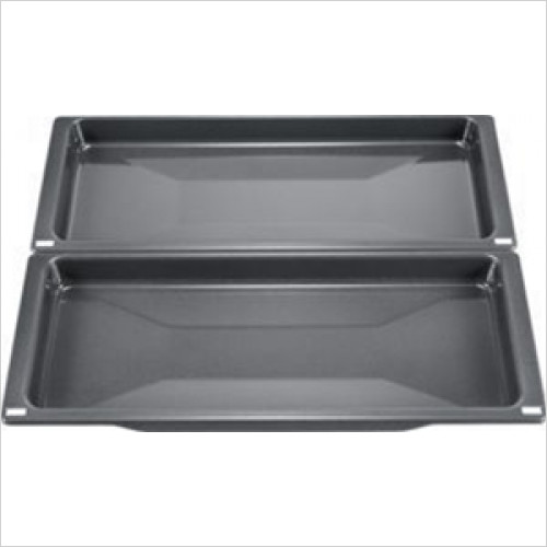 Bosch - Serie 6, 4 Two Piece Slim Pan Set