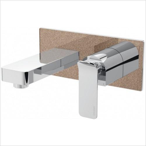 Metallix Alp Wall Mounted Bath Filler