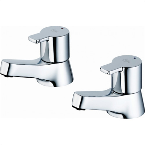 Ideal Standard - Bathrooms - Calista Bath Pillar Taps