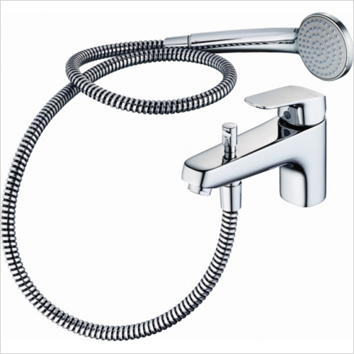 Ideal Standard - Bathrooms - Ceraflex Single Lever 1 Hole Bath Shower Mixer