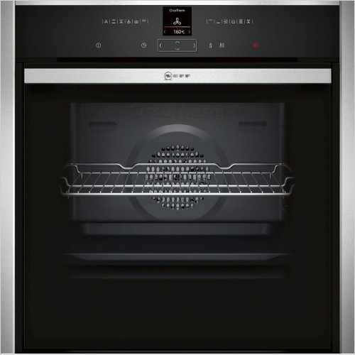 Neff - N70 Slide & Hide Single Pyrolytic Oven, CircoTherm