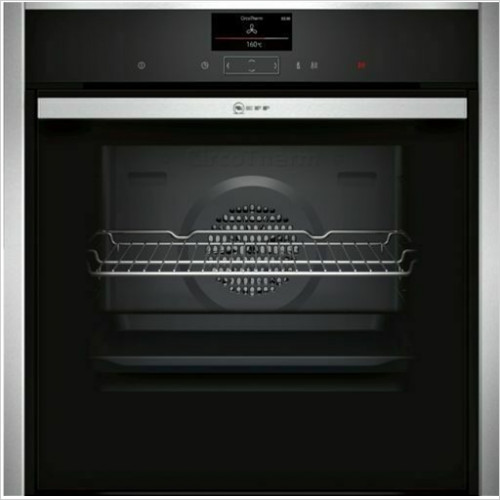 Neff - N90 Slide & Hide Single Pyrolytic Oven, CircoTherm