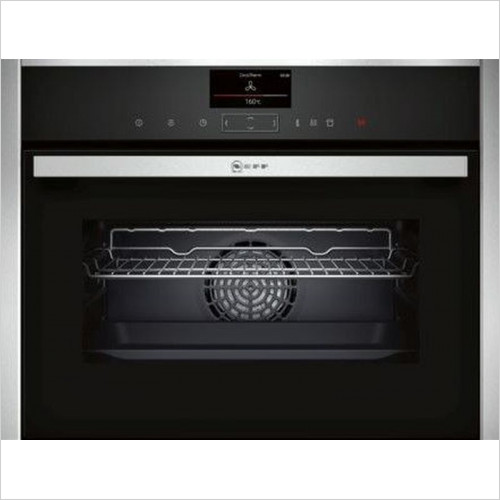 Neff - N90 Compact 45cm Steam Oven With CircoTherm