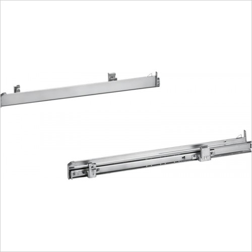Neff - N50 1 Pair Of Level Independent ClipRail Telescopic Rails
