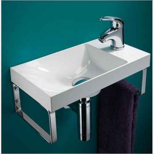 HiB Bathrooms - Ocean Washbasin 40 x 11 x 22cm