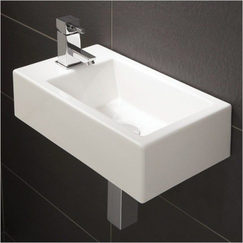 HiB Bathrooms - Metro Washbasin 44 x 13 x 25cm