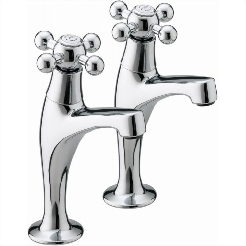 Bristan Kitchens - Regency High Neck Pillar Taps
