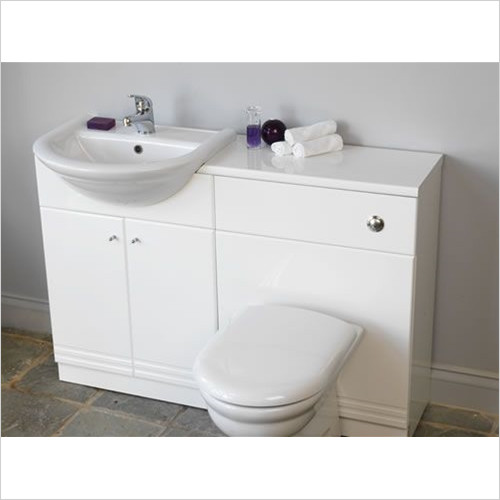 Estuary Bathrooms - Bonito 600mm Basin Unit
