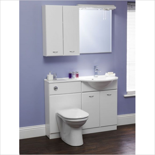 Estuary Bathrooms - Diamante 600mm Basin Unit