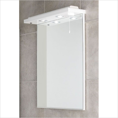 Estuary Bathrooms - Faro 580mm Wave Action Cornice