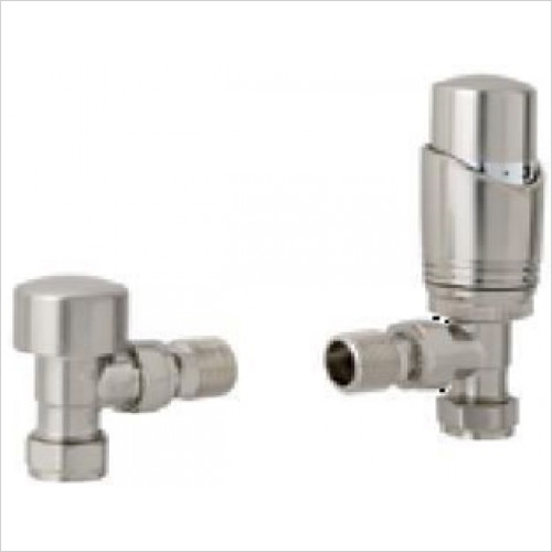 Estuary Accessories - 15mm Angle TRV & Lockshied Valve