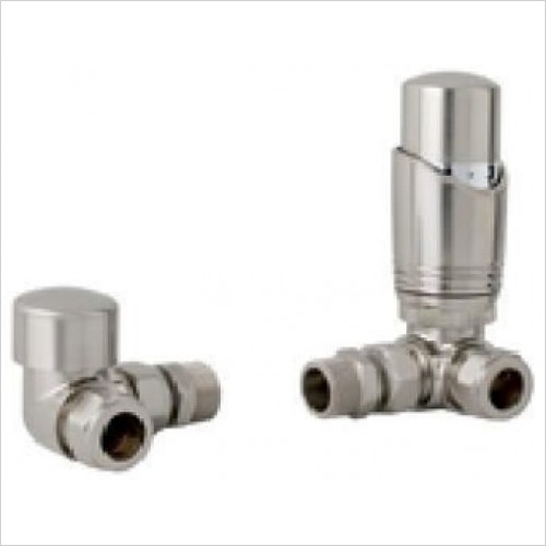 Estuary Accessories - 15mm Corner TRV & Lockshield Valve