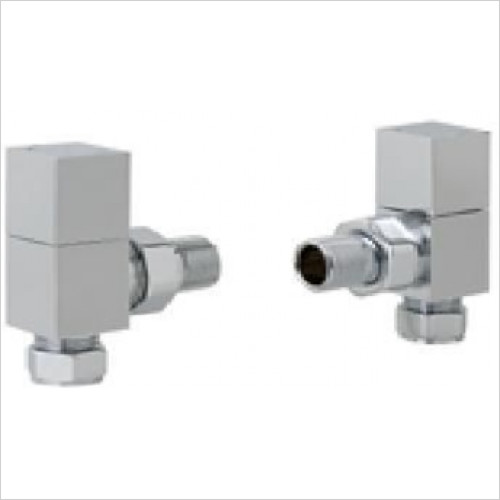 Estuary Accessories - Angled Square Radiator Valve