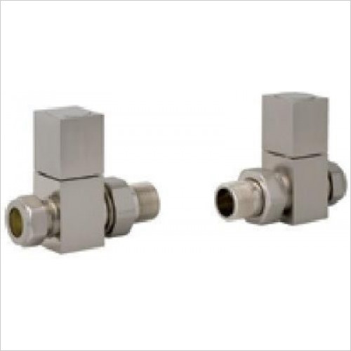 Estuary Accessories - Straight Square Radiator Valve