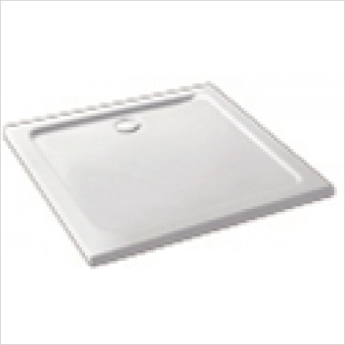 Estuary Bathrooms - Volente ABS Stone Resin Shower Tray 1200 x 1200mm