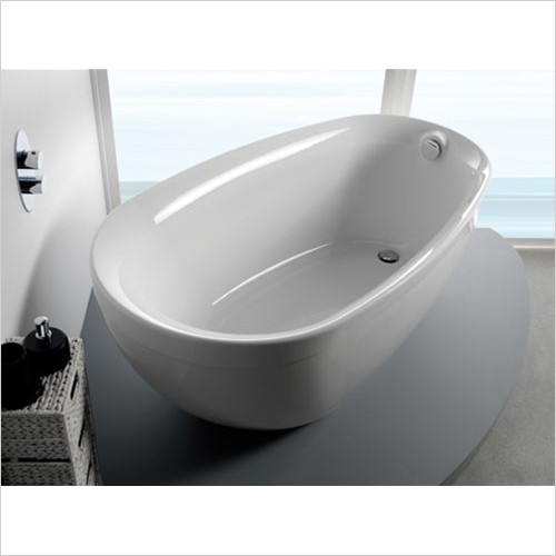 Estuary Bathrooms - Paradigm Freestanding Bath With Filler
