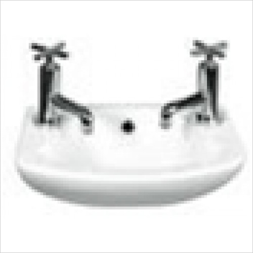 Estuary Bathrooms - Loire Cloakroom Basin 365 x 260mm 1 Tap Hole RH